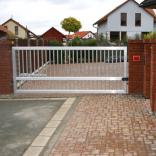 brána jednokřídlá