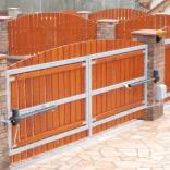 brána dvoukřídlá